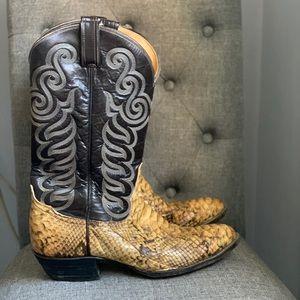 Tony Lama men's cowboy boots s 8 (sh50)